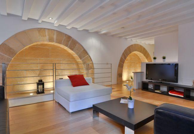 Apartamento en Palma de Mallorca - Encantador duplex en Palma Antigua
