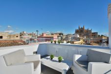 Ferienwohnung in Palma de Mallorca - Attic apartment 2 bedrooms